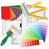 Materiali architettonici Fotografie Stock