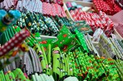 Materiali colorati Fotografia Stock