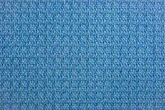 Materiali - cotone blu fotografia stock libera da diritti