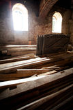 Materiali da costruzione di legno Immagine Stock