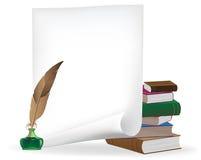 Materiali di scrittura Immagine Stock Libera da Diritti