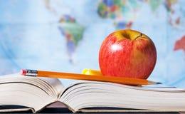 Materiali e programma di studio Immagini Stock