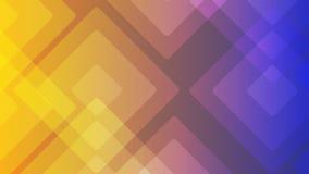 Materiali illustrativi astratti o vari del fondo variopinto di progettazione, biglietti da visita Modello geometrico futuro con l illustrazione di stock