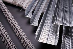 Materialien für errichtende Nahaufnahme Lizenzfreies Stockfoto