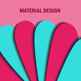 Materialny projekt background-3 Obrazy Stock