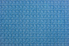 Materials - blue cotton Royalty Free Stock Photo