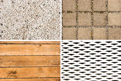 Materials - Collage Royalty Free Stock Photos