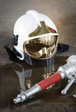 Materials for firefighters Stock Photography