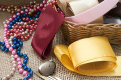 Materials for Handicrafts. Stock Photo