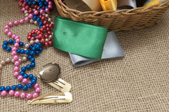 Materials for Handicrafts. Royalty Free Stock Image