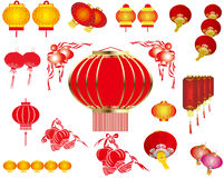 The materials of lantern Royalty Free Stock Photo