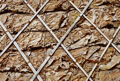 Materials leaves roof Stock Images