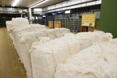 Materials At Spinning Factory  Royalty Free Stock Photos