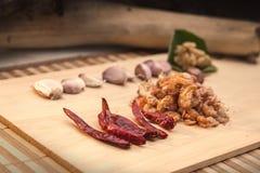 Materias primas de la comida picante Imagenes de archivo