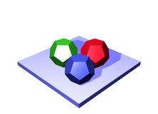 Materias primas un diagrama Obj de la cadena de suministro de la logística Imagen de archivo libre de regalías