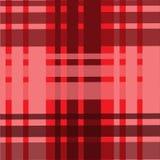 Materias textiles abstractas de la tela de la célula del contexto del modelo del paño del fondo rojas Fotos de archivo