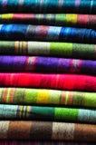 Materias textiles tradicionales Imagen de archivo libre de regalías