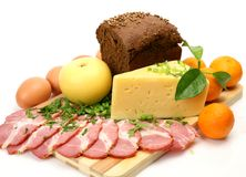 Materie di alimento Fotografie Stock