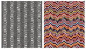 Materieel naadloos patroon. stock illustratie