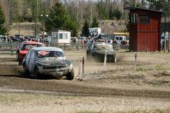 materiel för bilrace Royaltyfri Bild