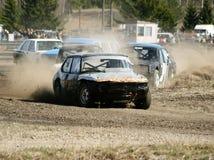 materiel för bilrace Royaltyfria Bilder