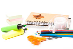 Materiel for school Royalty Free Stock Photo