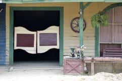 Materielbild av den gamla ko-pojke stången Royaltyfri Bild