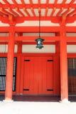 Materielbild av den Heian relikskrin, Kyoto, Japan arkivbild