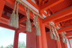 Materielbild av den Heian relikskrin, Kyoto, Japan arkivfoton