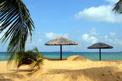 Materielbild av den Tioman ön, Malaysia Royaltyfri Bild