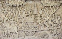 Materielfoto - skulpterad wood härlig kanokmodell royaltyfri bild