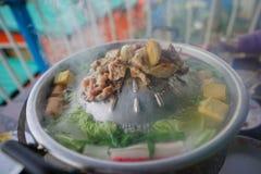 Materielfoto - thailändsk grillfest Royaltyfria Bilder