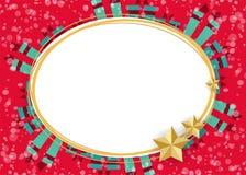 Materiella julgrangåvor Royaltyfria Foton