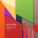 Materieller Designhintergrund Lizenzfreie Stockbilder