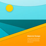 Materieller Designhintergrund Stockfotografie
