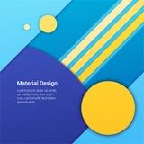 Materieller Designhintergrund Stockfotos