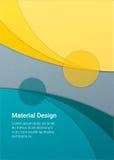 Materieller Designhintergrund Stockfoto