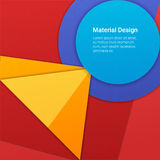 Materieller Designhintergrund Lizenzfreies Stockbild