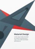 Materieller Designhintergrund Stockbild