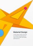 Materieller Designhintergrund Lizenzfreie Stockfotografie