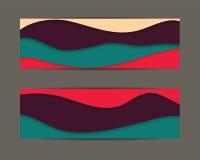 Materieller Designhintergrund Stockbilder
