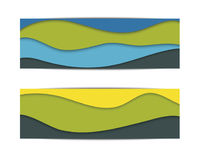 Materieller Designhintergrund herein Lizenzfreies Stockbild