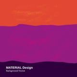 Materiellt designbegrepp vektor illustrationer