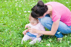 Maternal attachment Royalty Free Stock Images