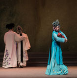 """Maternal aunt-The seventh act Disintegration of families-Kunqu Opera""""Madame White Snake"""". Legend of the White Snake is one of the most famous tales spreading Royalty Free Stock Images"""