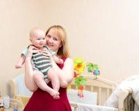 Maternal happiness Royalty Free Stock Photo