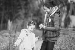 Maternal love Stock Image