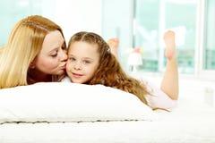 Maternal love Stock Photo