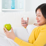 Maternal nutrition. Royalty Free Stock Photography