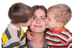 Maternidad feliz Foto de archivo libre de regalías